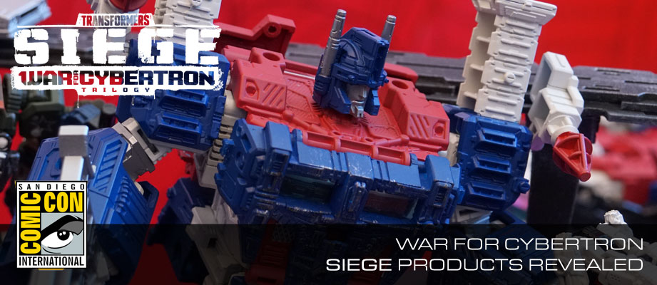 Gallery and Video for Transformers War for Cybertron: Siege Display at #SDCC2018 #HasbroSDCC