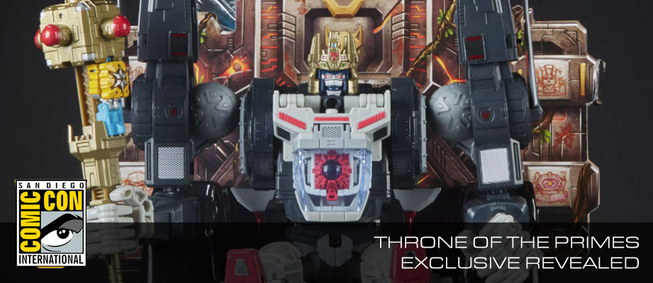 Official Images of SDCC 2018 Exclusive POTP Throne of the Primes Set with Missing Prime Masters