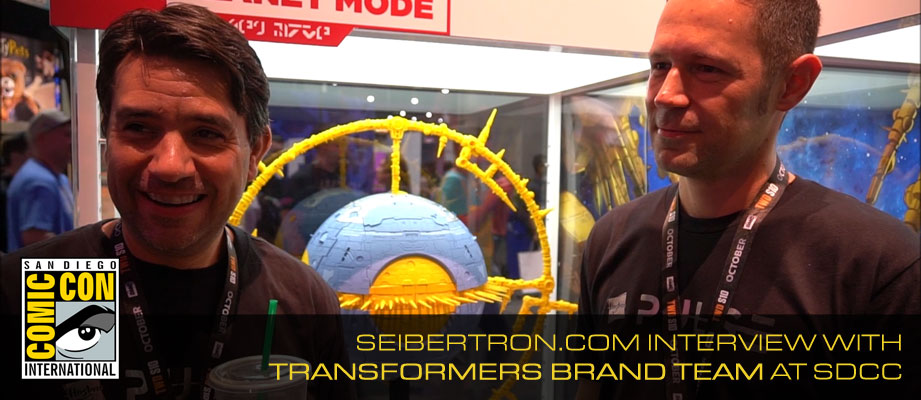 #SDCC2019 Interview with John Warden and Ben Montano and HasLab Unicron Image Gallery Updated