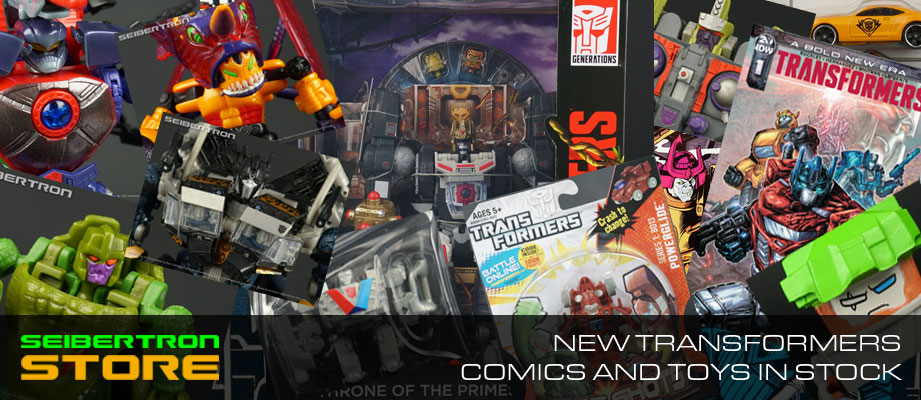 New items at the Seibertron Store: IDW + Marvel Transformers comics, SIEGE, Studio Series, Unicron Trilogy + more