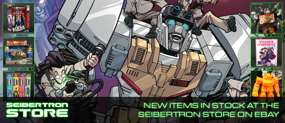 Ghostbusters Transformers Comics, Newly Added Toys and More In-Stock at the Seibertron Store on eBay