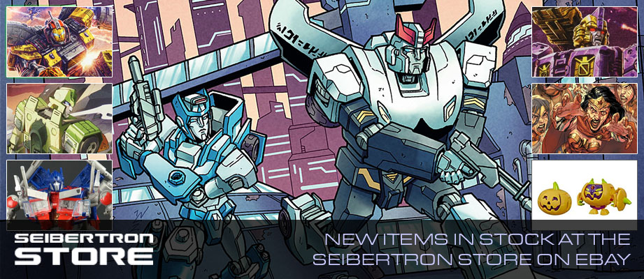 Seibertron Store: 20% off Comic Books Sale, New Transformers Items, Masters of the Universe and more