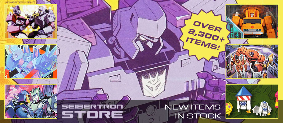 Seibertron Store: G1 Deszaras, Road Caesar, New Comics, Back-Issues, Botbots Series 4, and more!
