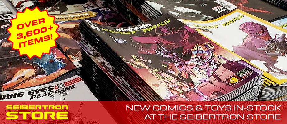 Seibertron Store: New Comics Transformers Beast Wars, Vampirella Valentine's Day, Immortal Hulk and more!