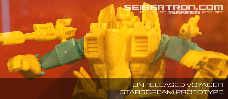 Voyager Starscream Prototype - Possible Generations Discarded or Upcoming Figure