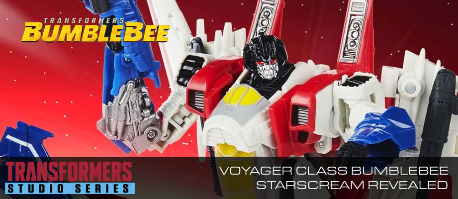 New Studio Series 72 Starscream from the Bumblebee Movie revealed