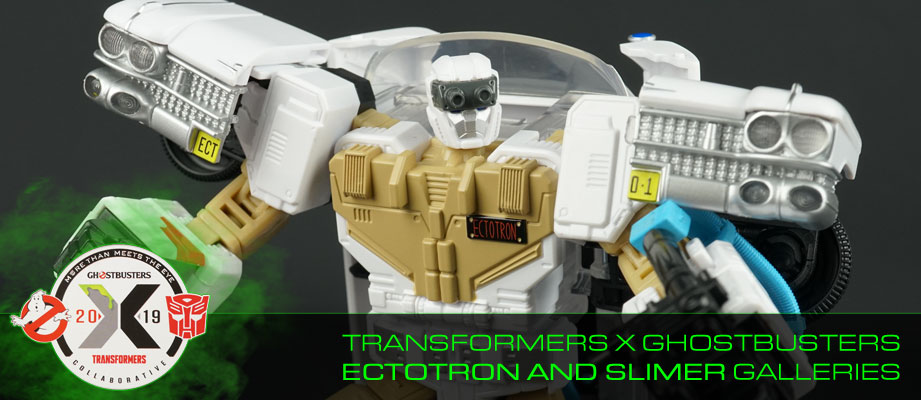 New Galleries: Transformers X Ghostbusters Ecto-1 Ectotron with Slimer