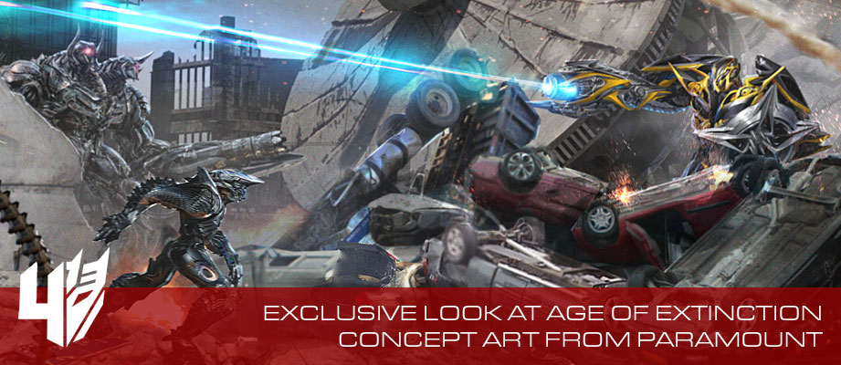 Exclusive Look At Age Of Extinction Concept Art From Paramount