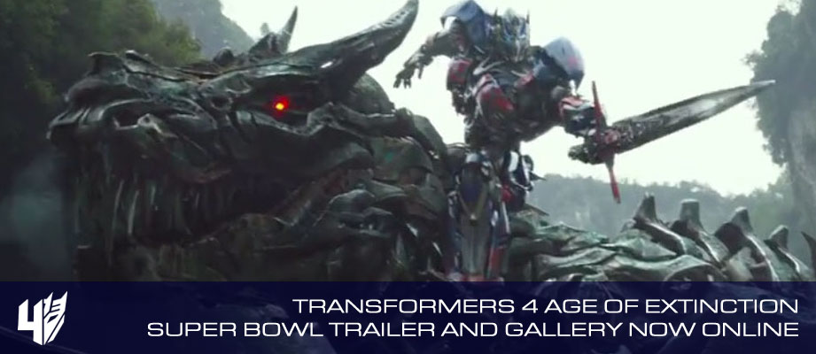 Transformers: Age Of Extinction Super Bowl Trailer and Screen Capture Gallery