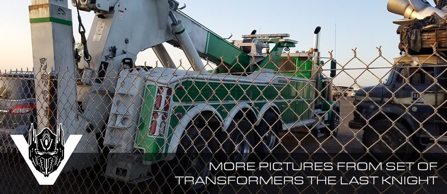 More pictures from the set of Transformers 5: The Last Knight in Phoenix