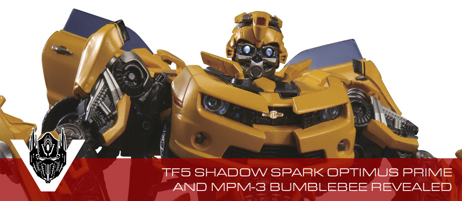 More info and large images of Shadow Spark Optimus Prime and MPM-3 Bumblebee Revealed