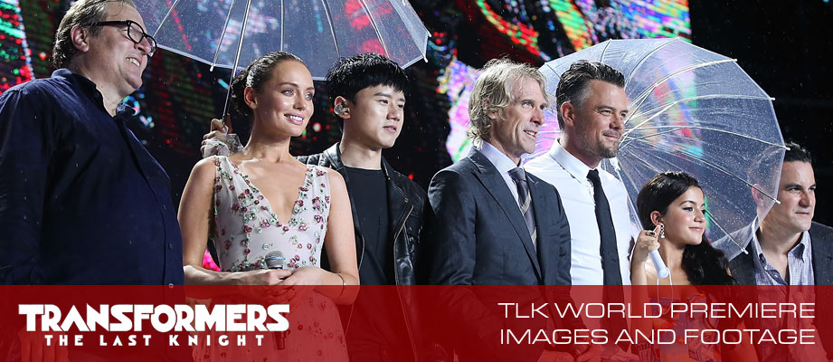 Transformers The Last Knight China World Premiere Footage and Images