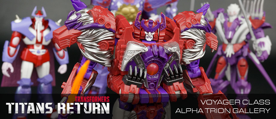 New Galleries: Titans Return Voyager Alpha Trion with Sovereign
