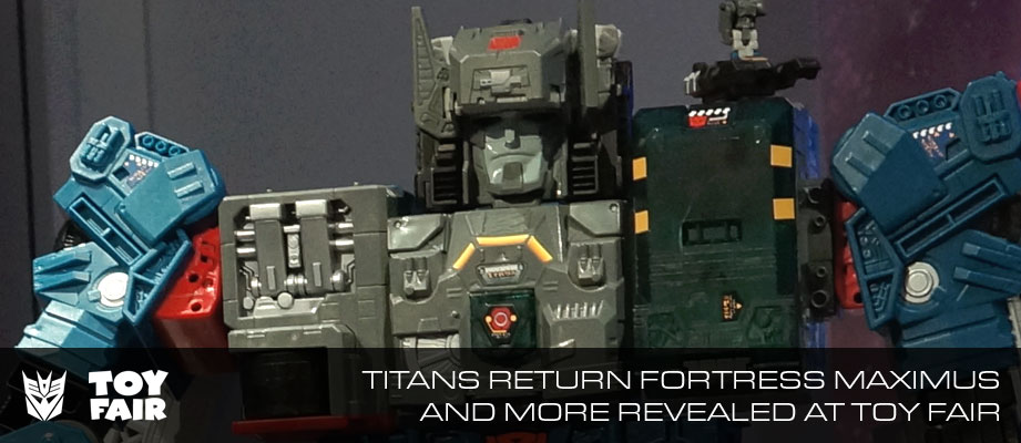 Toy Fair 2016 Transformers Titans Return Photogallery