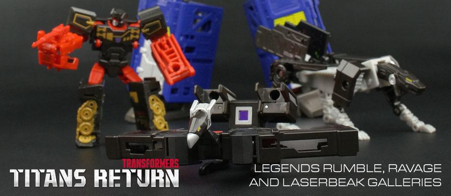 New Galleries: Titans Return Legends Rumble, Ravage and Laserbeak