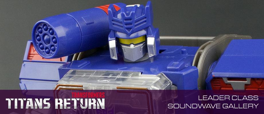 New Galleries: Titans Return Leader Soundwave with Soundblaster