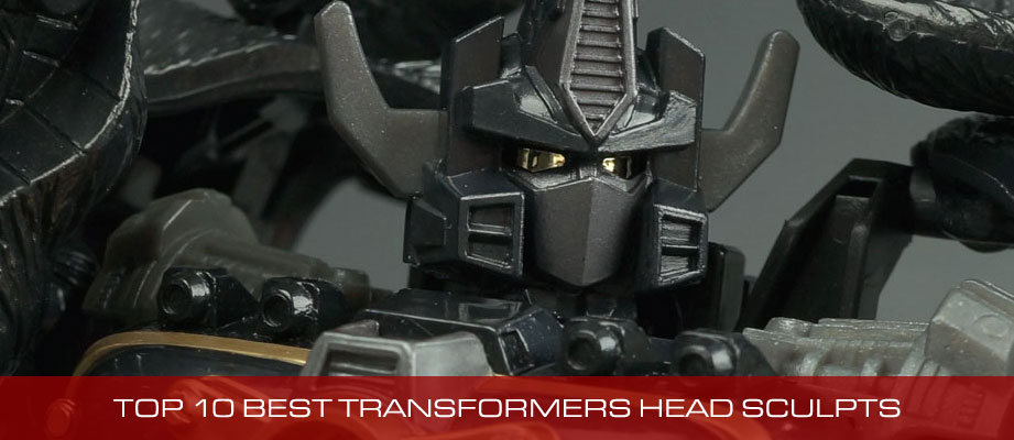 Top 10 Best Transformers Toy Head Sculpts