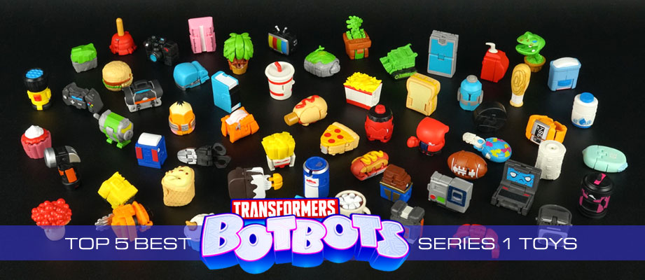 Top 5 Best Transformers Botbots Series 1 Toys