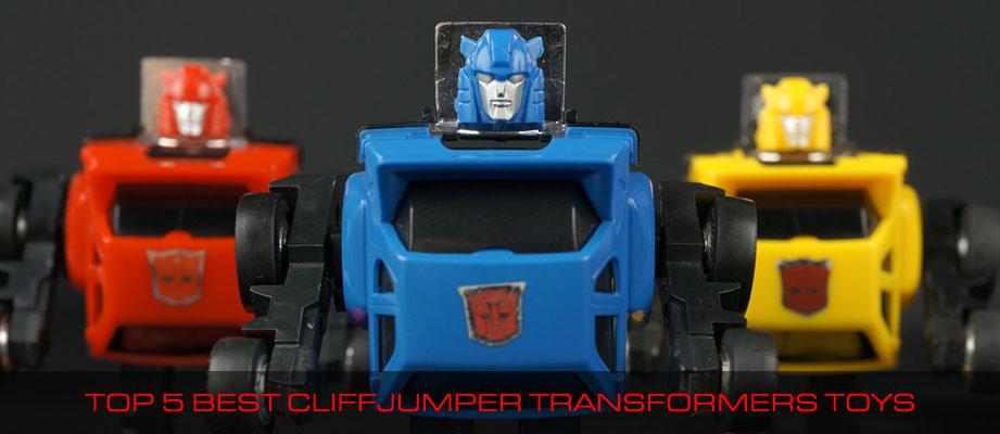 Top 5 Best Cliffjumper Transformers Toys