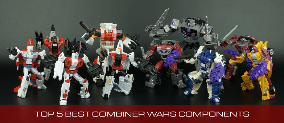 Top 5 Best Combiner Components (Limbs / Torsos) from Transformers Combiner Wars and Unite Warriors
