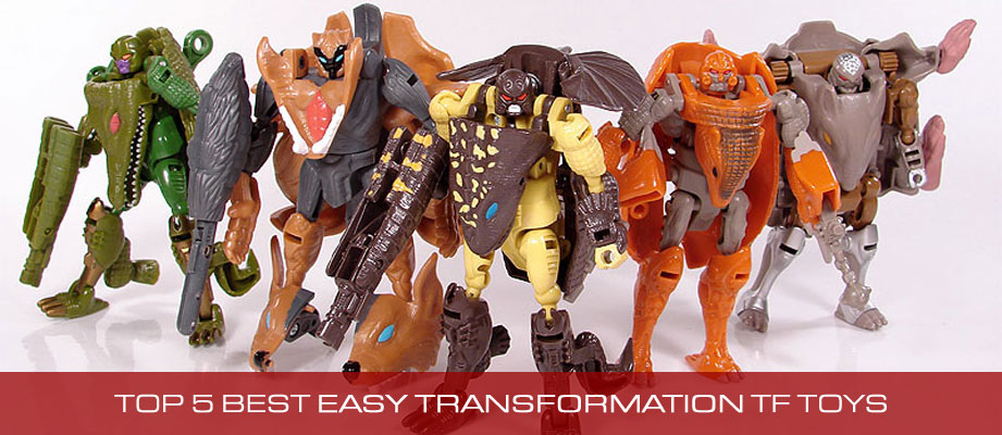 Top 5 Best Transformers Toys with Easy Transformations