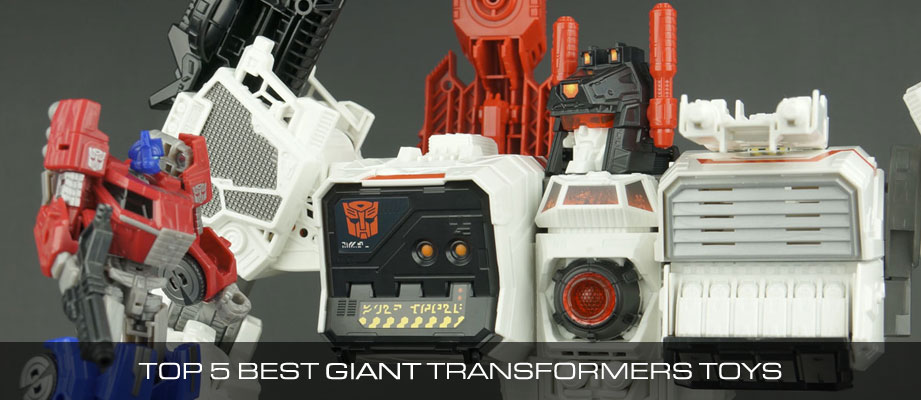 Top 5 Best Giant Transformers Toys