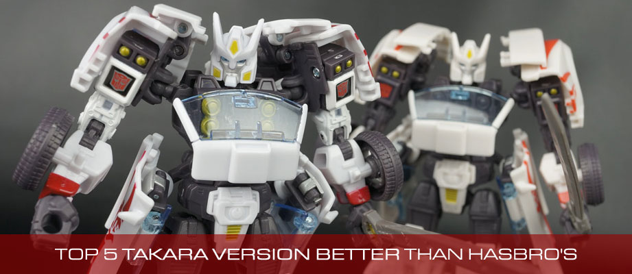 Top 5 Transformers Toys whose Takara version was Better than Hasbro's