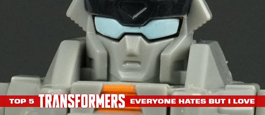 """Top 5 Transformers toys that """"everyone hate"""" but I truly and genuinely love"""