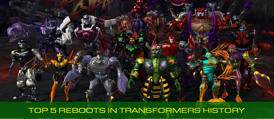 The Top 5 Reboots in Transformers History