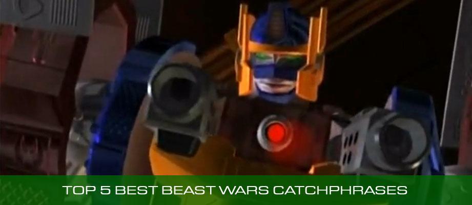 Top 5 Best Transformers Beast Wars Nicknames