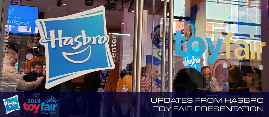 Hasbro's Toy Fair 2019 Brand Presentation