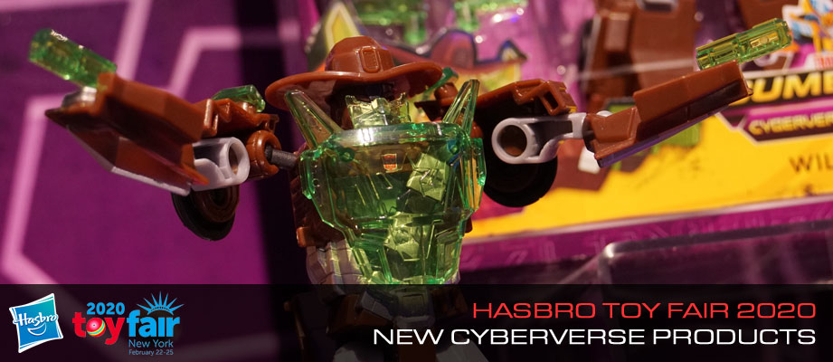 Gallery and Official Images of Cyberverse Toys Revealed at #HasbroToyFair 2020