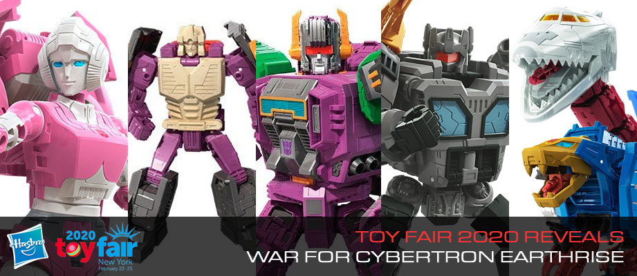 Toy Fair 2020 War for Cybertron EARTHRISE product reveals