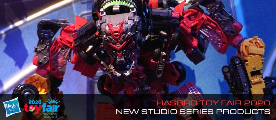 Gallery of Transformers Studio Series Display from Toy Fair 2020 #HasbroToyFair