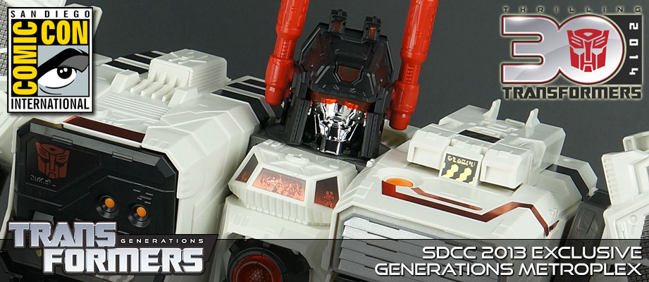 New Galleries: SDCC 2013 Metroplex and Scamper