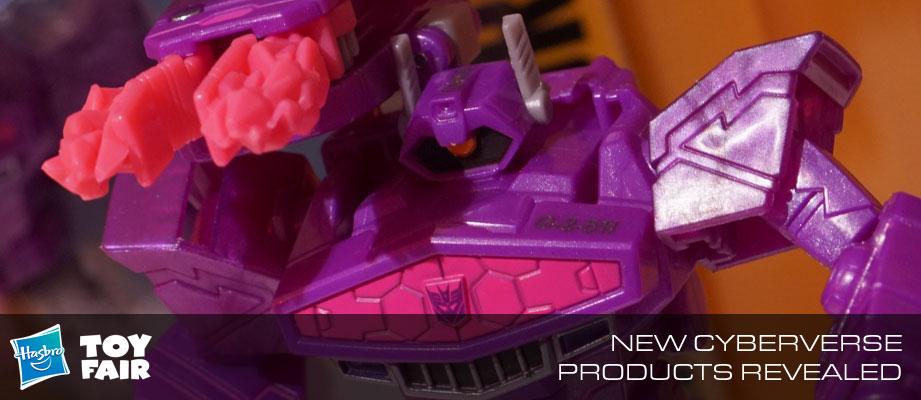 Toy Fair 2018 - Gallery of Transformers Cyberverse Reveals #HasbroToyFair #NYTF
