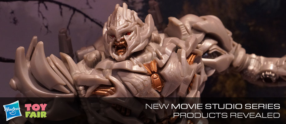 Toy Fair 2018 - Gallery of Transformers Studio Series Megatron, Grimlock, Brawl #NYTF #HasbroToyFair