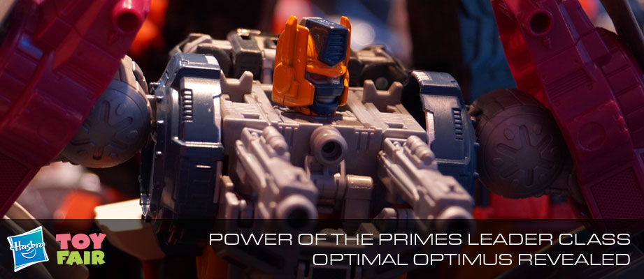 Toy Fair 2018 - Gallery of Transformers: Power of the Primes Optimal Optimus #HasbroToyFair #NYTF