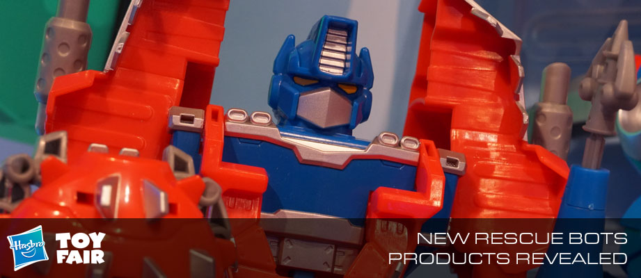 Toy Fair 2018 - Gallery of Transformers: Rescue Bots Products #HasbroToyFair #NYTF