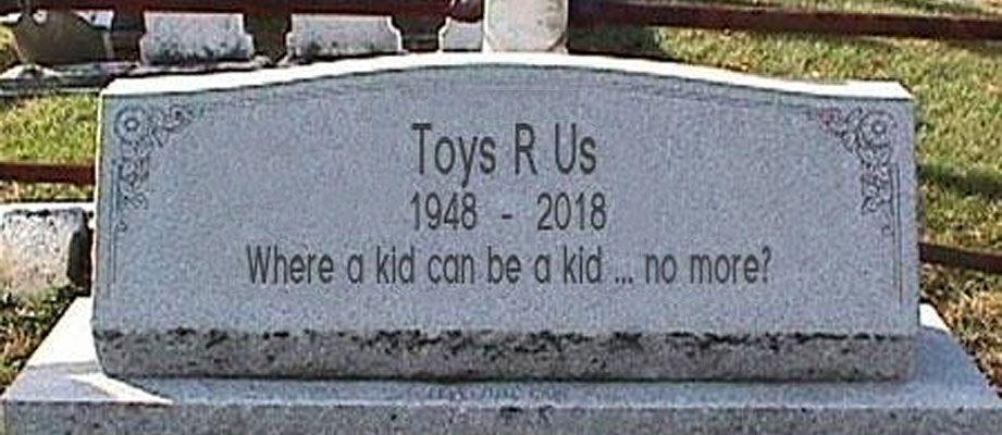 Toys R Us debating whether or not it will close all of its US store locations