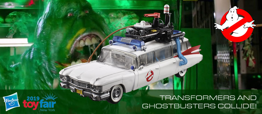 Official press release and more images Transformers-Ghostbusters Collaborative ECTO-1 Ectotron