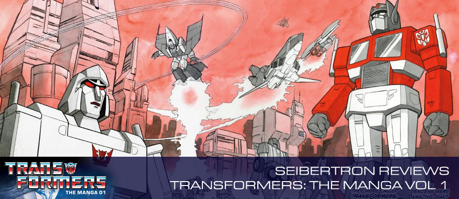 Check out Seibertron's review of Transformers: The Manga Volume 1 from Viz Media