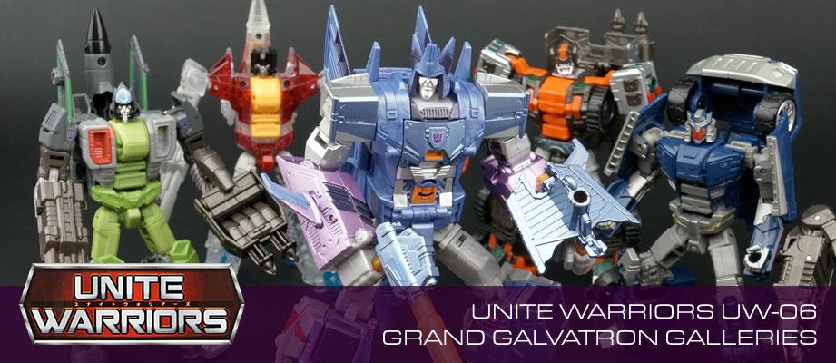 New Galleries: Unite Warriors UW-06 Combiner Haunt Leader Grand Galvatron
