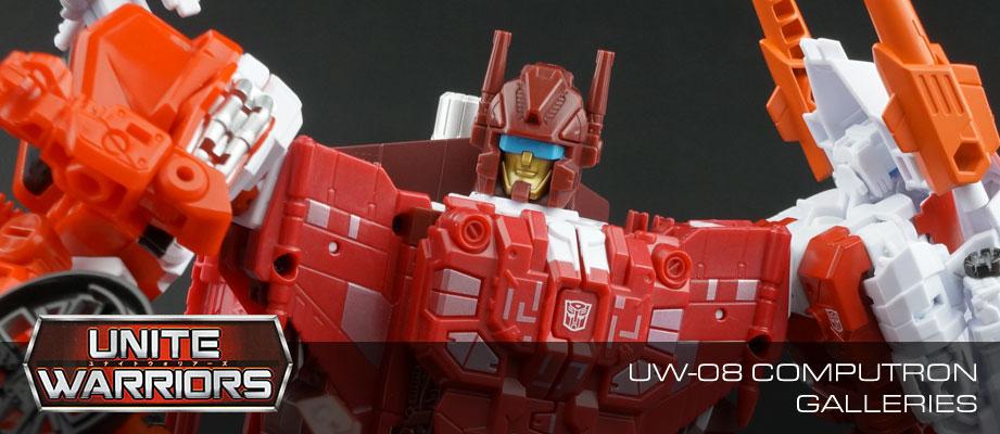 New Galleries: Unite Warriors UW-08 Technobots Combiner Computron Set
