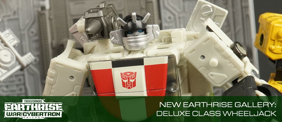 New Gallery: Deluxe WHEELJACK from Transformers War for Cybertron Earthrise