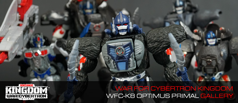 New Gallery: War for Cybertron Kingdom WFC-K8 Optimus Primal