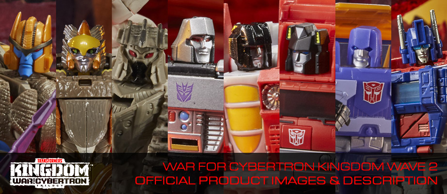 New War for Cybertron Kingdom Wave 2 revealed with official product images and descriptions