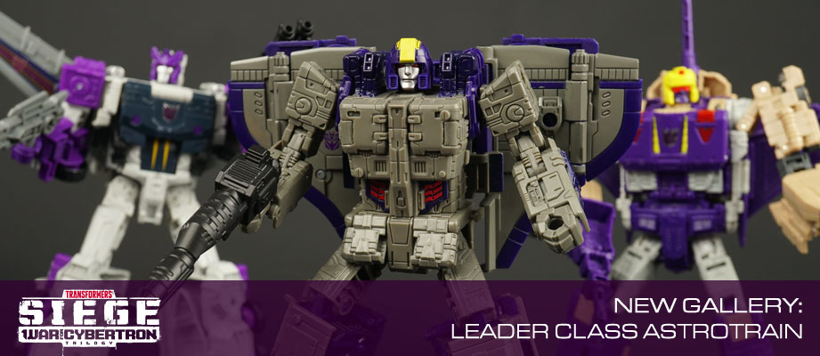 New Gallery: War for Cybertron Siege Leader Class Astrotrain