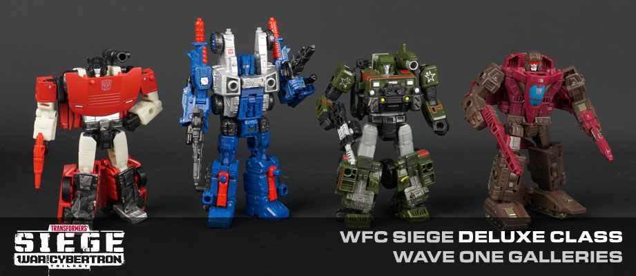 » New Galleries: War for Cybertron SIEGE Deluxe Class Cog, Hound, Sideswipe and Skytread