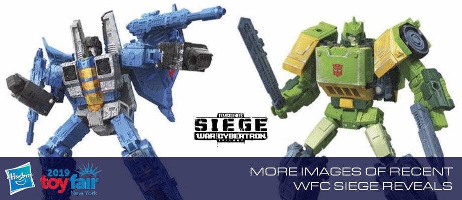 More Official Images of Siege Springer, Thundercracker, and Red Alert